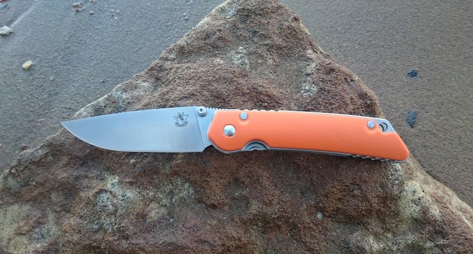 Нож складной STEELCLAW JIN ORANGE D2