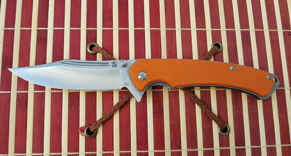 Нож складной STEELCLAW Лед-3 D2