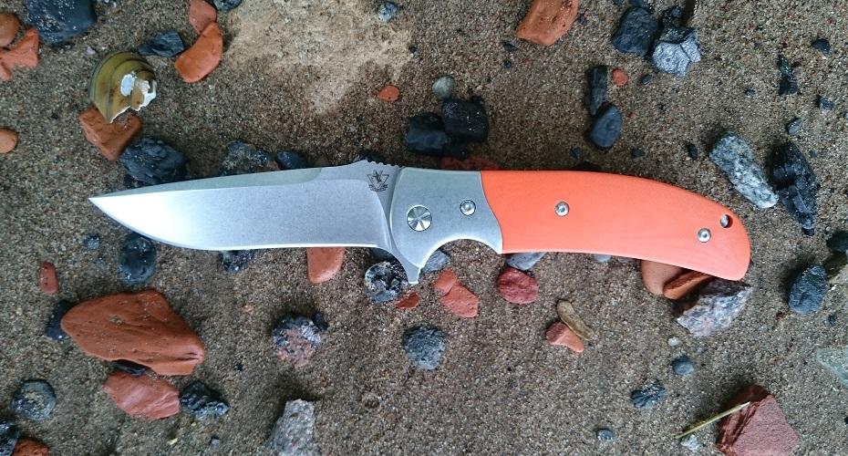 Нож складной STEELCLAW Резервист Оранж D2