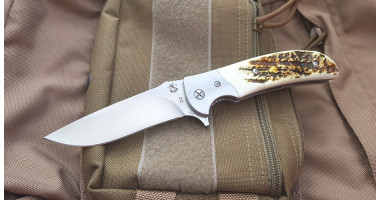 Складной нож SteelClaw Резервист Рог Оленя