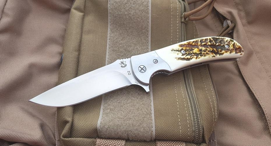 Складной нож SteelClaw Резервист Рог Оленя D2