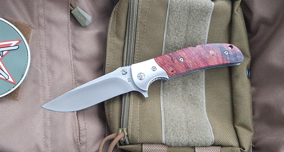 Нож SteelClaw Резервист (кап клена)