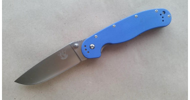 Нож складной STEELCLAW Крыса синяя