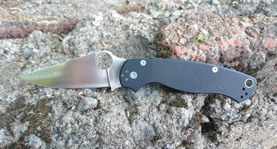 Нож складной STEELCLAW Боец 2 черный 9Cr18MoV