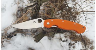 Нож складной STEELCLAW Боец 3 оранжевый