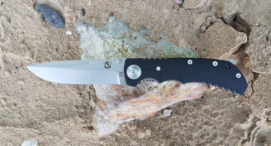 Нож складной STEELCLAW Рейнджер T3-T4 D2