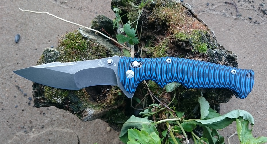 Нож складной STEELCLAW Варанус D2