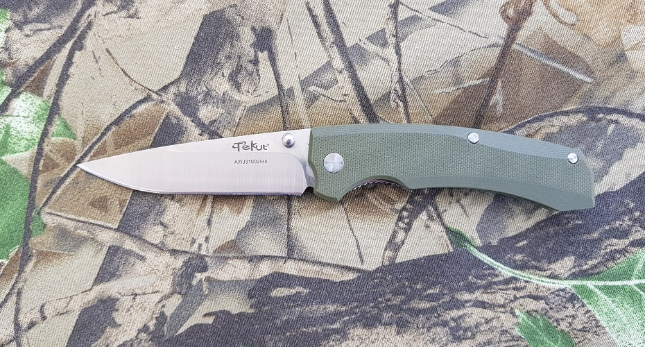 Нож складной TEKUT LK5277 Zero Green Sandvik 12C27
