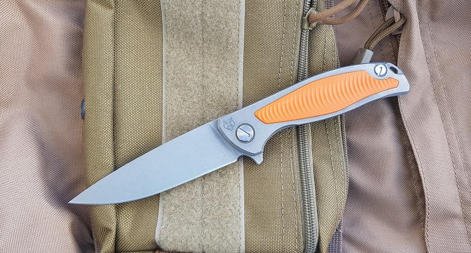 Нож складной Wild Boar F95 Orange D2