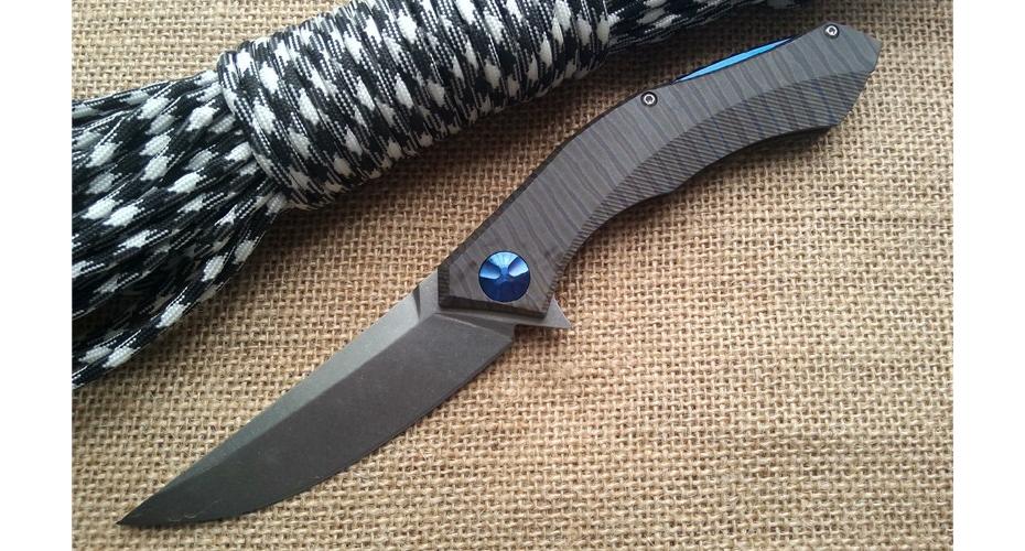 Нож складной WILD BOAR POLUCHETKI D2