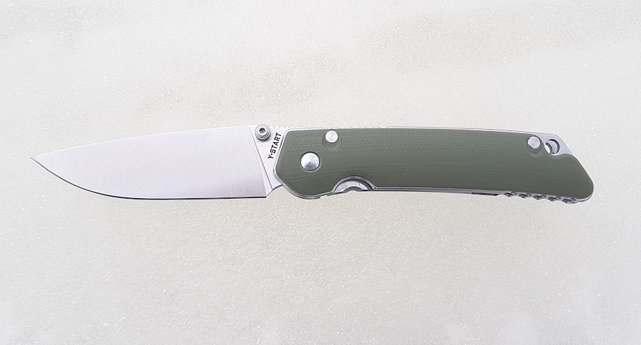 Нож складной Y-START JIN01 Green D2