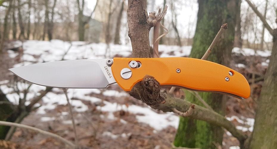 Нож складной Y-START JIN02 ORANGE D2