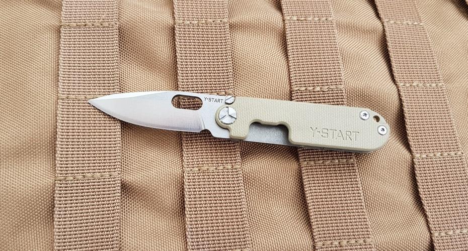 Нож складной Y-START LK5009 SAND 440C